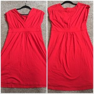 LOFT True Red Dress
